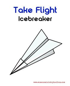 Icebreaker: Take Flight - I recently returned from a women's ministry retreat with another church. This icebreaker is one that was shared during our time together. Games For Moms, Games For Teens, Team Building Activities, Group Activities, Elderly Activities, Health Activities, Group Games, Building Ideas, Elementary School Counseling