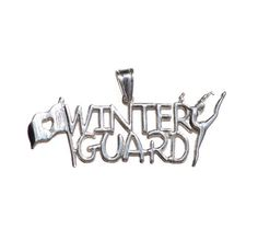 Winter Guard Charm   Sterling Silver