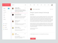 Email Application Design Inspiration — Muzli -Design Inspiration — Medium