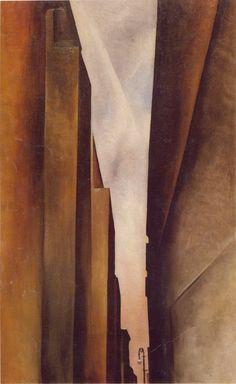 GEORGIA O'KEEFFE  New York Street No 1 (1926)