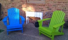 Chairs I painted this summer. by carole