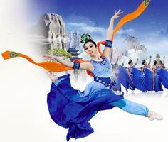 Shen Yun - costume colors