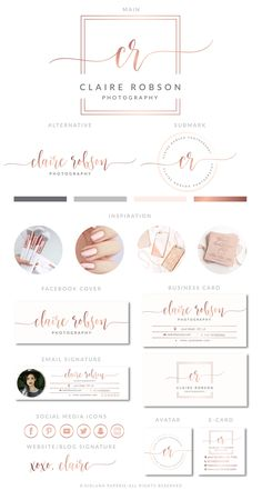 Photography logo inspiration branding 63 Ideas for 2019 Logo Inspiration, Running Inspiration, Business Inspiration, Writing Inspiration, Travel Inspiration, Boutique Logo, Boutique Design, Cool Business Cards, Business Card Design