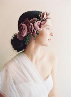 These uniquely vintage inspired bridal accessories for the modern bride from Erica Elizabeth Designs are sure to take your breath away with their beauty. Bridal Hair And Makeup, Hair Makeup, Pretty Hairstyles, Wedding Hairstyles, Enchanted Bridal, Chic Vintage Brides, Wedding Hair Accessories, Flowers In Hair, Bridal Flowers
