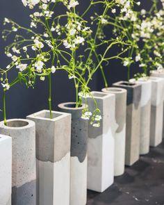 Cement Art, Concrete Crafts, Concrete Projects, Beton Design, Concrete Design, Diy Concrete Planters, Terrazo, Beton Diy, Concrete Furniture
