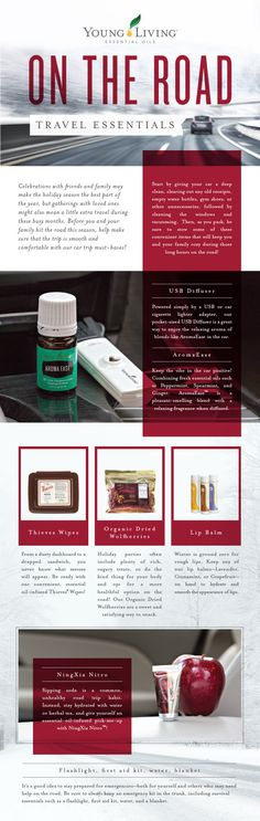 Road Trip Travel Essentials - HealthyFamilyMatters.com If you'll be traveling soon here are some natural products to keep handy for a smooth trip. #travel #roadtrip #familytravel