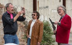 Jeremy Clarkson and former Top Gear stars reunite to film for tour - Telegraph