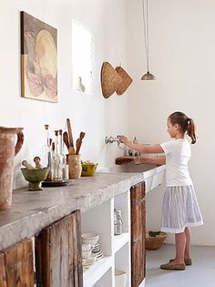 Kitchen | Concrete Countertop..
