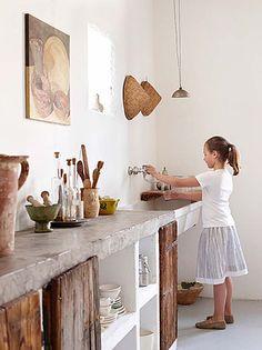 Kitchen Concrete Countertops-18-1 Kindesign
