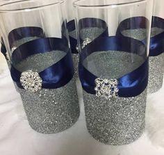 47 best silver wedding centerpieces images beauty the beast red rh pinterest com