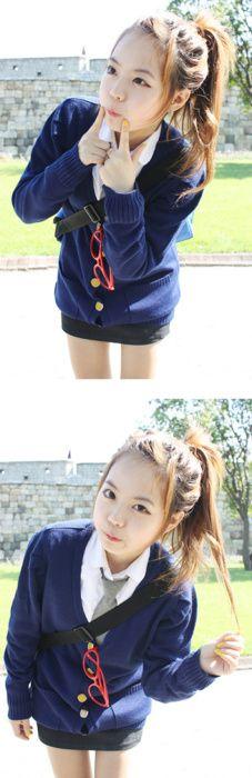 Ulzzang hong young gi Boat Fashion, Cute Fashion, Asian Fashion, Fashion Outfits, Fashion Styles, Korean Ulzzang, Ulzzang Girl, Hong Young Gi, Park Hyung Seok