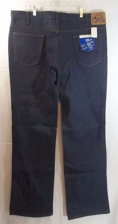 Mens Plain Pocket Jeans Vintage JCPenney 40 x 34 NWT Over The Boot   Clothing, Shoes & Accessories, Men's Clothing, Jeans   eBay!