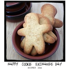 Happy Cookie Exchange Day: December 22nd! Come by and visit www.awarmhello.com