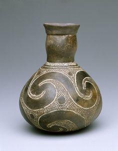 Bottle Artist Unknown (Caddo) (United States, North America), 1100-1299