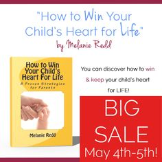 Wish someone could walk beside you and share helpful parenting tips? Here Melanie Redd offers hope in her book on winning your child's heart for life.