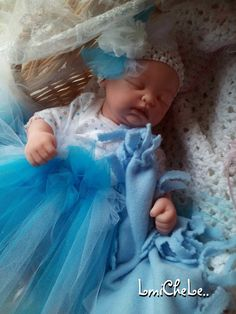 Secrist Preemie Zoe Reborn Baby Doll 17 inch  Baby Erika