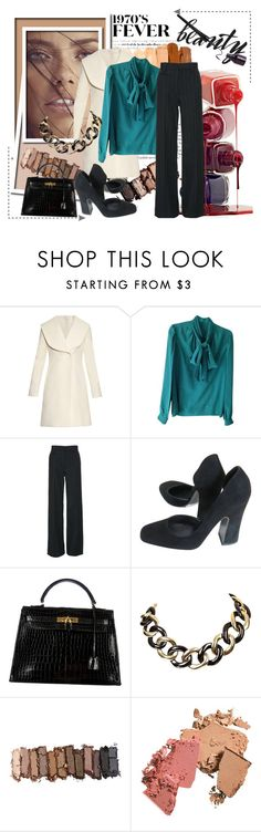 """1970"" by lululafitte on Polyvore featuring moda, J.W. Anderson, Gucci, Marc Jacobs, Halston, Hermès, Urban Decay, women's clothing, women y female"