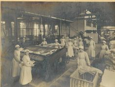 1930's. To supply laundry services to the passenger liners coming in to Tilbury docks.