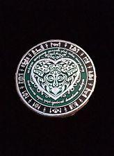 Celtic Heart Geocaching Geocoin Silver