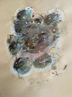 Marcin Kempski / acryl on paper