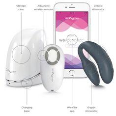 We-Vibe 4 Plus Vibrador Para Casal com Aplicativo Para Celular - Hot Pepper Sex Shop