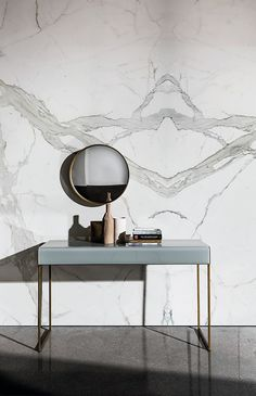 Rectangular glass console table NIDO | Console table - @sovetitalia