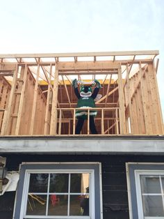 Pemberton Township High School's Hornet mascot shows off our second floor. Orlando Vacation, Hornet, Second Floor, Vespa