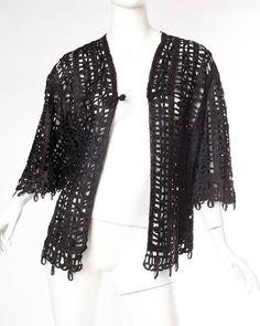 Victorian Soutache Braid Lace Jacket