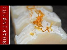 Making Soap for Sensitive Skin {with aloe + calendula} S2W11