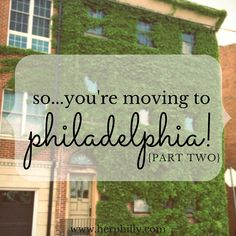 Earlier this week, I shared my Philadelphia apartment hunting tips. Today, I'd like to give my response to the other question I get most frequently: where should I live? Picking your&nbs…