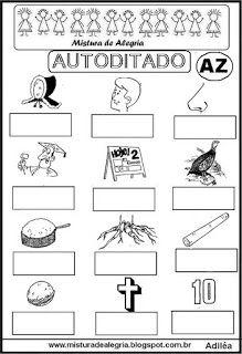 Autoditado para alfabetização com az