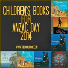 A great selection of children's Books for ANZAC Day celebrations. All books could be used to deepen understandings of the anzac tradition and the anzac story. Literature Circles, Children's Literature, Library Displays, Classroom Displays, Teaching Activities, Teaching Resources, Celebration Around The World, Anzac Day, Australian Curriculum