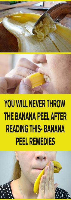 YOU WILL NEVER THROW THE BANANA PEEL AFTER READING THIS- BANANA PEEL REMEDIES – Let's Tallk