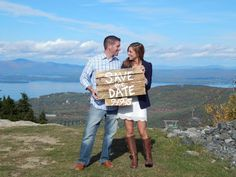 A great location for a Save The Date photo shoot!
