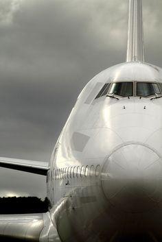 Boeing 747-400 Nose shot