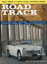 Road&Track 8/61 Spirit Of America/Lotus 20/Raymond Loewy/Fiat 1300/Austin-Healey