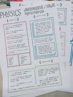 New Studyblr! : Photo New Studyblr! Cute Notes, Pretty Notes, Good Notes, Physics Notes, Science Notes, Physics Revision, Gcse Physics, Gcse Science, School Organization Notes