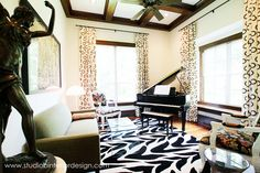 Music Room - mixing in modern