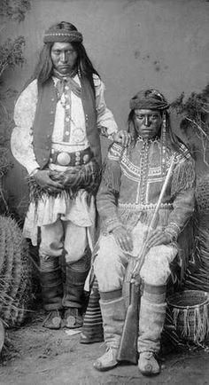 apache indian culture | Nalte and Gud-i-zz-ah were just two of the many White Mountain Apache ...