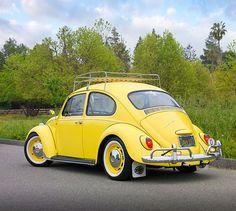 yellow vw beetle - Google Search                                                                                                                                                                                 More
