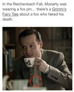 I knew about this, but I was hoping it didn't mean Moriarty had faked his death.  -_-