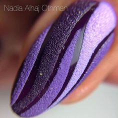 Best Nail Art Decorations To Choose Purple Nail Art, Colorful Nail Art, Purple Nail Designs, Nail Polish Designs, Cool Nail Art, Cute Nail Designs, Great Nails, Cute Nails, Manicure Y Pedicure
