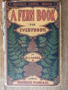 Vintage Fern book