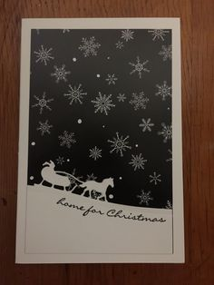 Stampin' Up Jingle All the Way Christmas card
