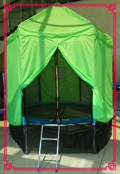 #15ft tr&oline tent #15ft tr&oline  #tr&oline tent & 39 Awesome tent cover for trampoline images | Kids space ...