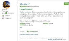 Ma che bello ricevere questi commenti a poche settimane dalla riapertura!!!  Grazie di cuore Emilia :)  #ischia #recensioni #tripadvisor