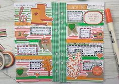 Decoración agenda Webster's Pages: semana 40