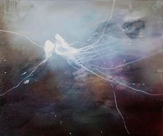 Cascade by Juliette Paull Grunge, Celestial, Abstract, Truths, Artwork, Paintings, Outdoor, Artists, Summary