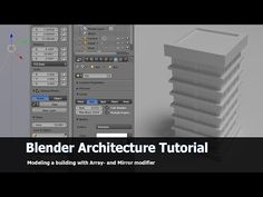 How to create buildings with modifiers - BlenderNation