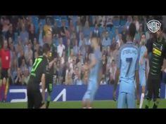 Manchester City vs Borussia M'gladbach 4-0 All Goals & Highlights 14/09/2016
